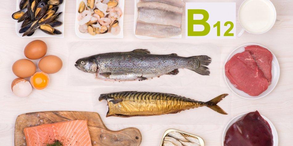 Lebensmittel mit Vitamin B12