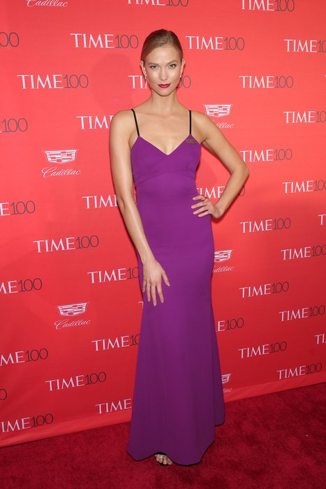 NEW YORK, NY - APRIL 26: Model Karlie Kloss attends the 2016 Time 100 Gala at Frederick P. Rose Hall, Jazz at Lincoln Center on April 26, 2016 in New York City. (Photo by Neilson Barnard/Getty Images)