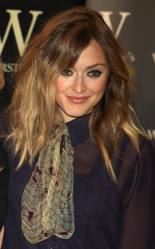 Messy hair bei Fearne Cotton