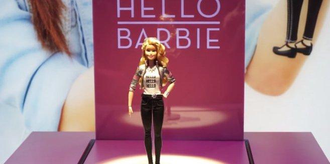 """Die neue """"Hello Barbie"""" von Matell"""