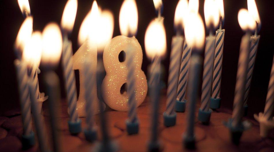 Geschenke zum 18. Geburtstag