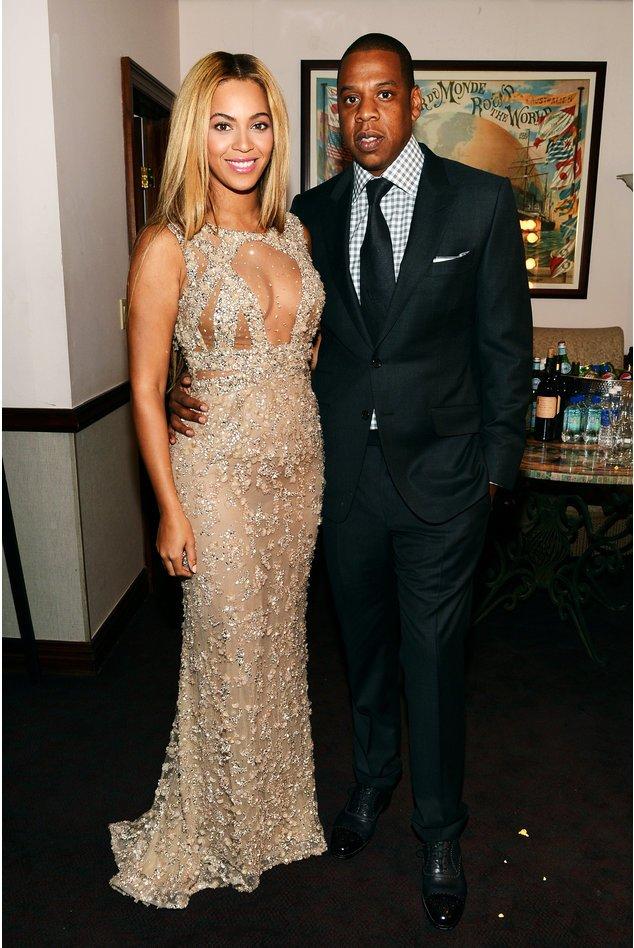 Beyonce mit ihrem Mann Jay-Z bei der Premiere ihrer eigenen Doku