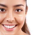 Getönte Tagescreme für trockene Haut