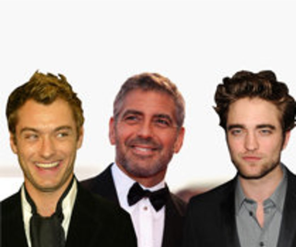 Robert Pattinson, George Clooney oder Jude Law - Style Kings!