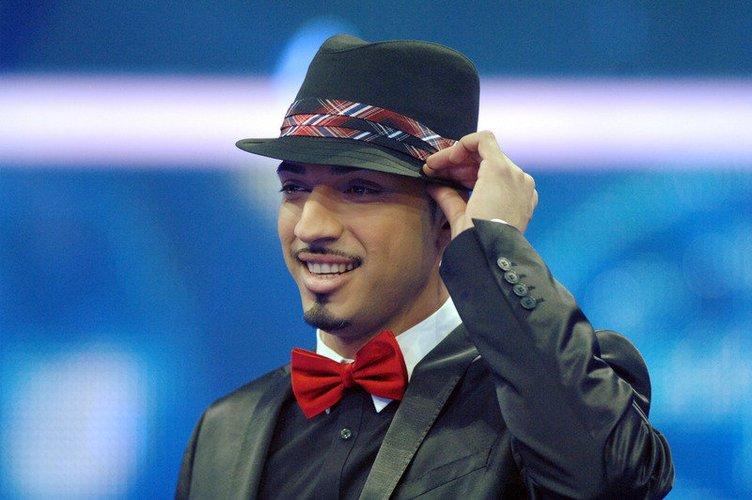 Mehrzad Marashi mit Hut.