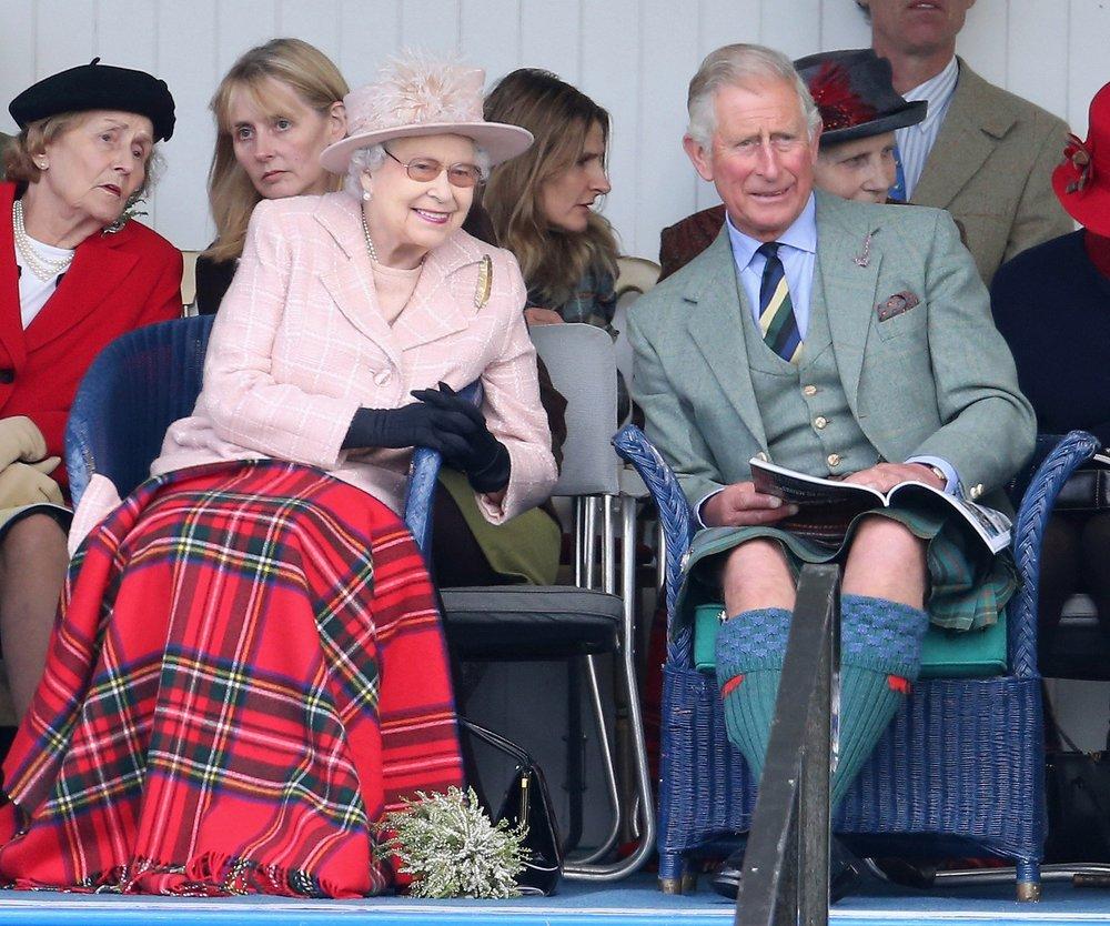 Prinz Charles als Coverstar
