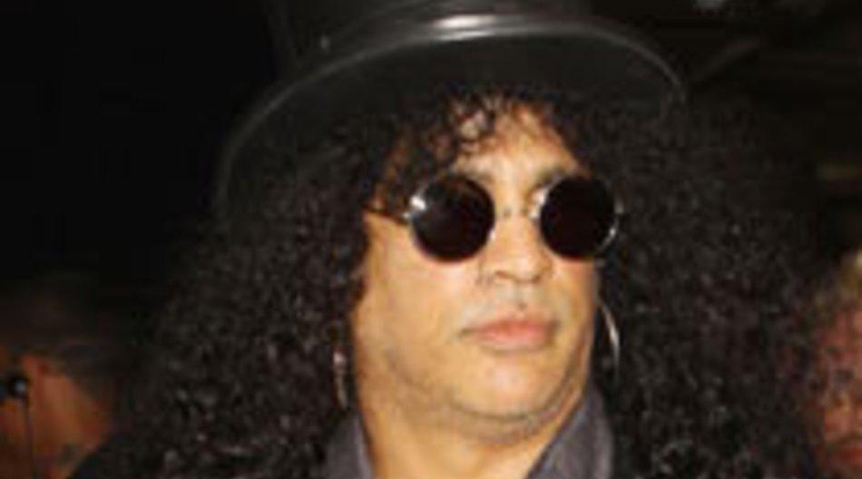 Slash nimmt Platte mit Fan auf