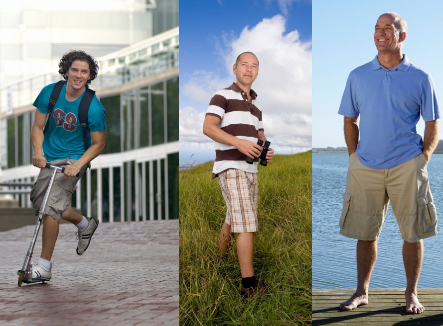 Männer Casual Shorts