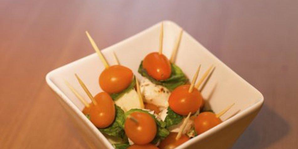 Tomate Mozzarella Spieße