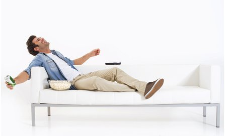 Männer entspannen lieber