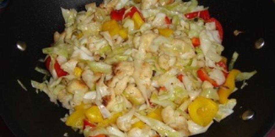 Gemüse süß sauer