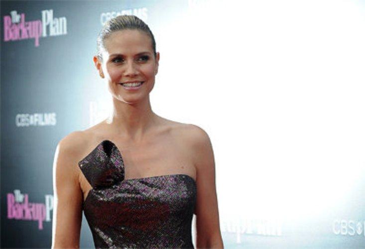 Heidi Klum bei einer Filmpremiere