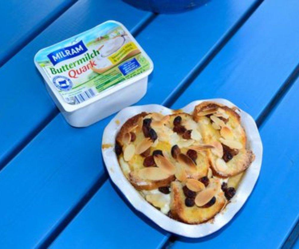 Süß und lecker: Milram-Apfeltraum