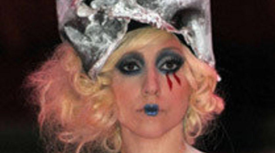 Lady Gaga wieder ganz extravagant