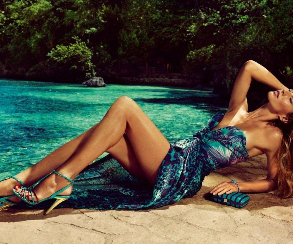 Gisele Bündchen modelt für Salvatore Ferragamo