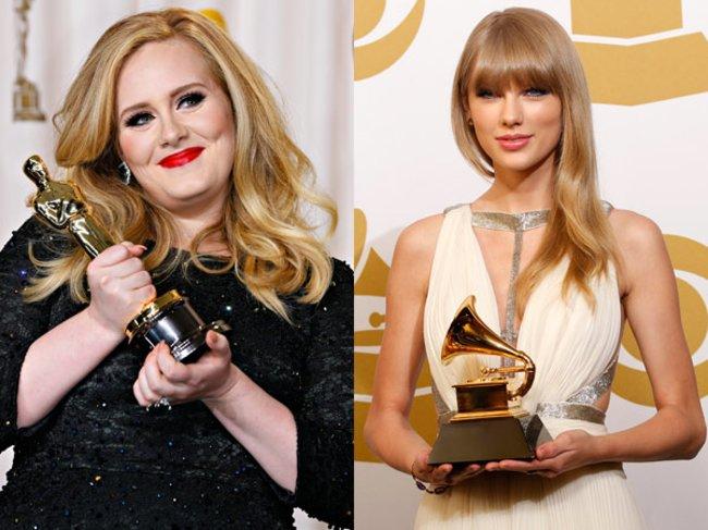 Adele und Taylor Swift