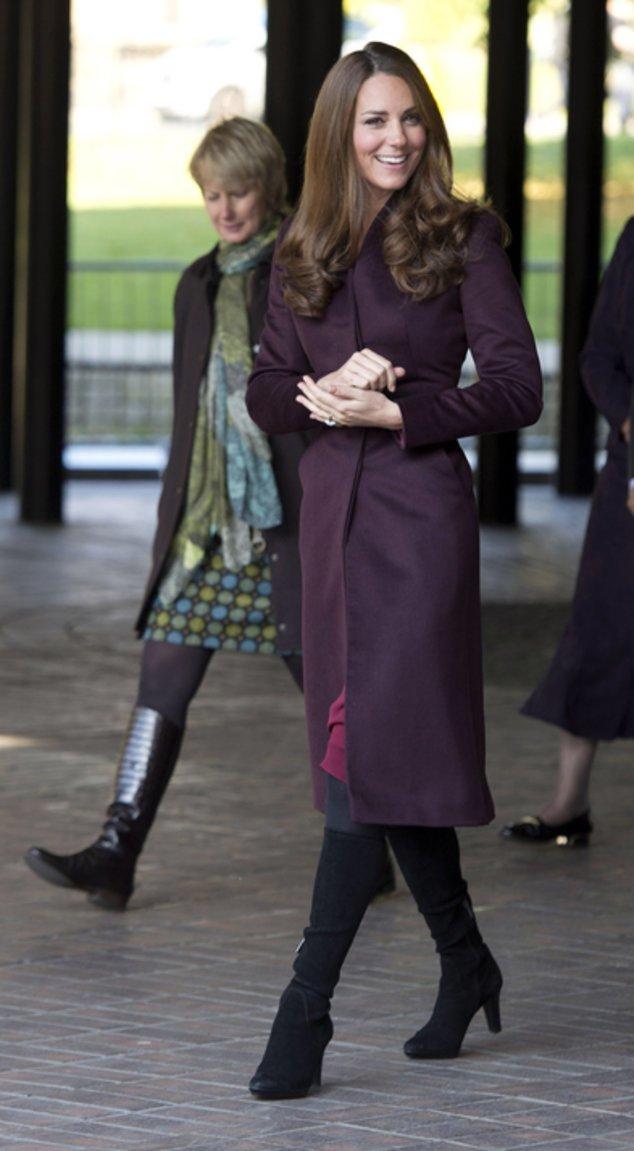Kate Middleton auf dem Weg zu einem Termin.