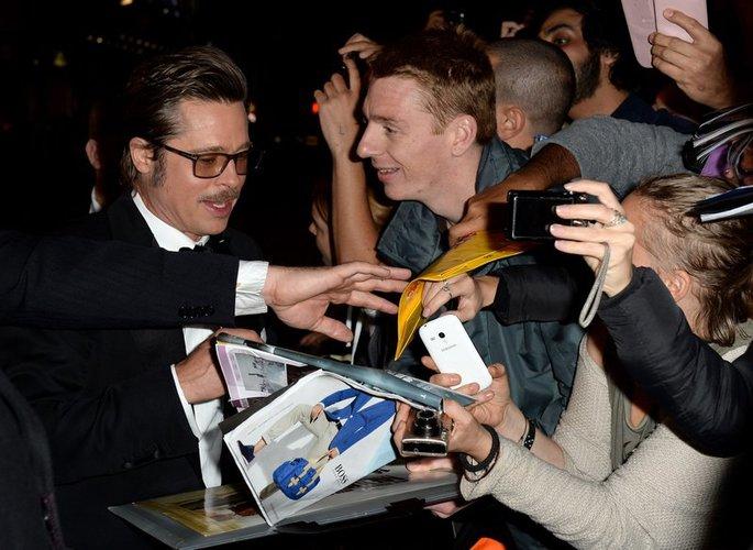 Brad Pitt ist in London