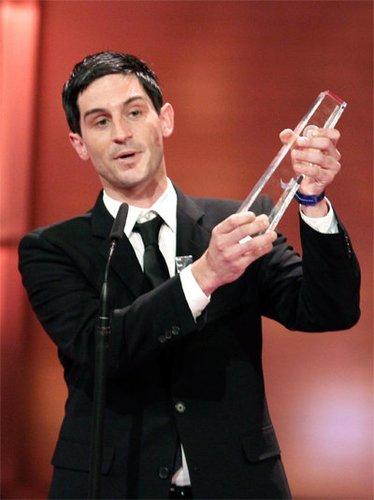 Christoph Bach gewinnt Deutschen Fernsehpreis 2010