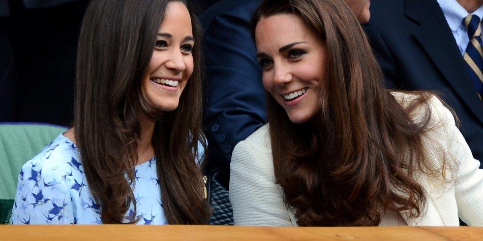Kate Middleton: Tennis-Doppel mit Pippa