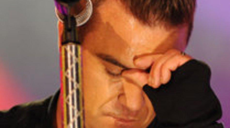 Robbie Williams hat eine mysteriöse Krankheit