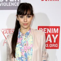 attends the GUESS Foundation and Peace Over Violence Denim Day Cocktail Event at at MOCA Grand Avenue on March 22, 2016 in Los Angeles, California.