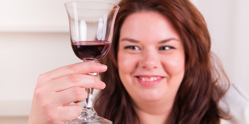 Rotwein abnehmen
