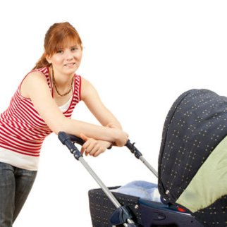 Die Bereifung des Kinderwagens