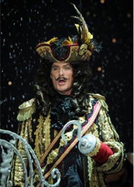 David Hasselhoff als Pirat Captain Hook