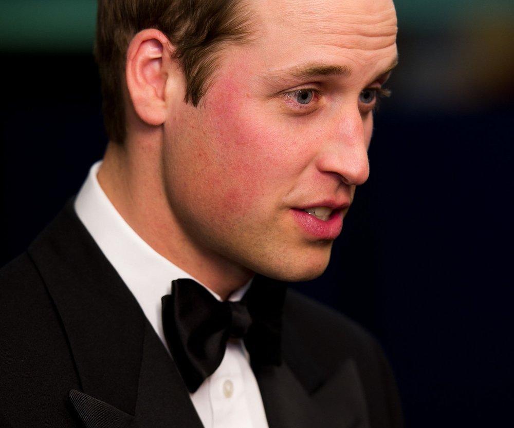 Prinz William plaudert über Queen