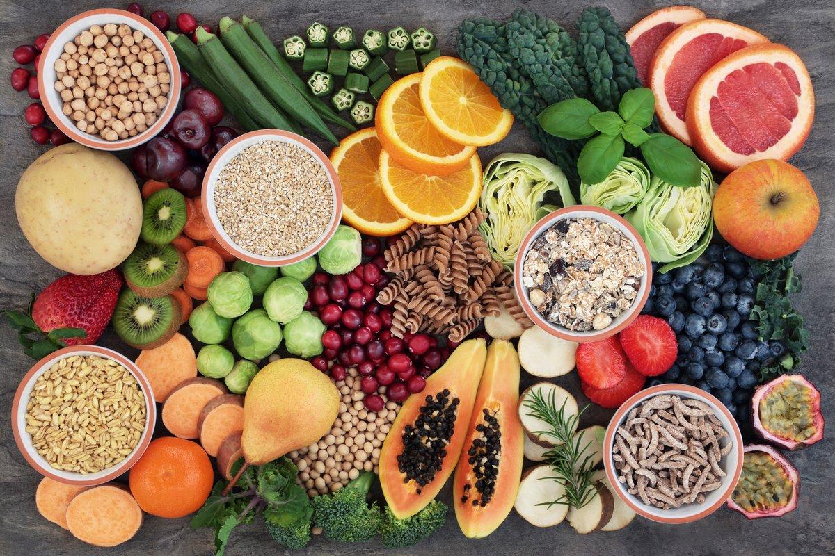 Grundnahrungsmittel für eine gesunde Ernährung