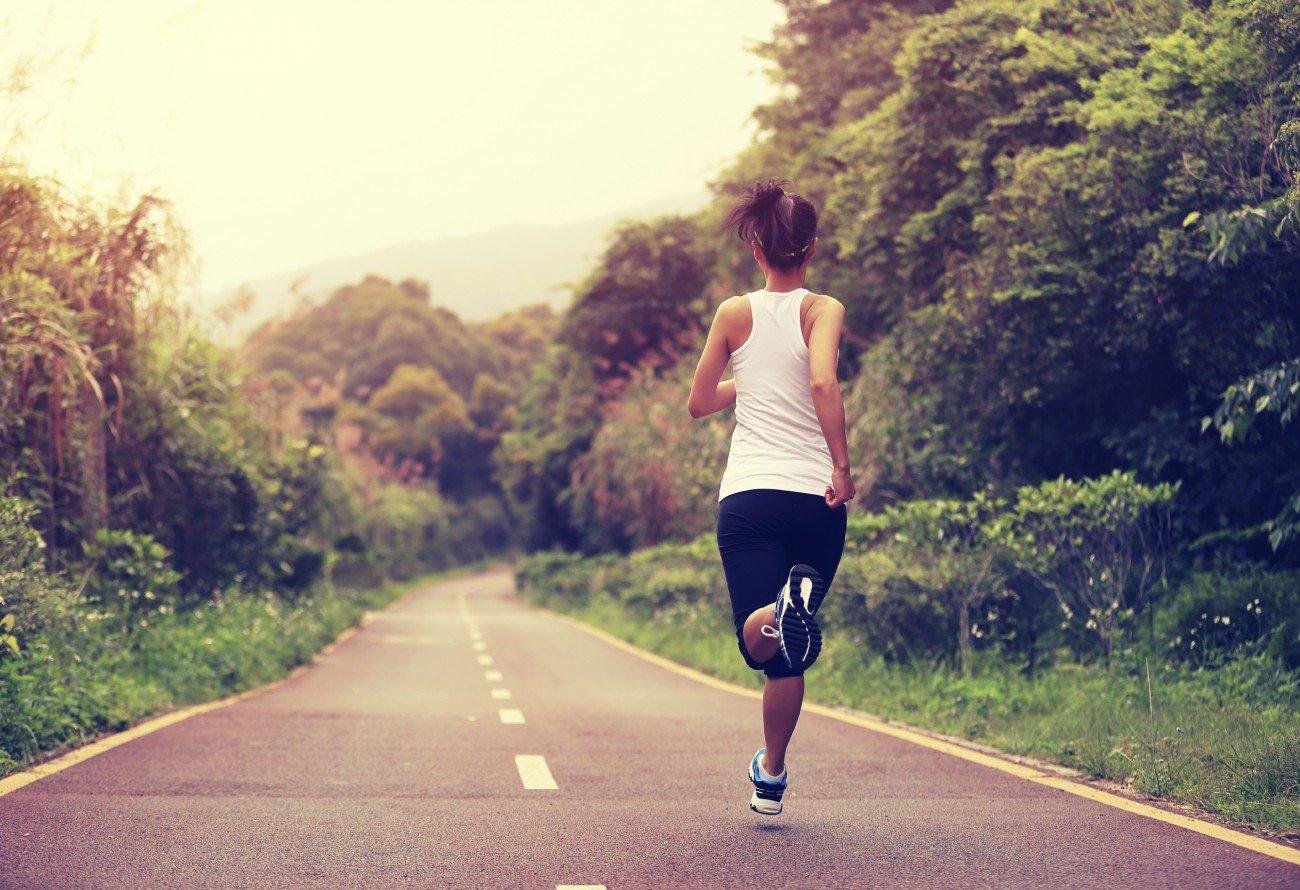 Um richtig joggen zu können, bedarf es etwas Übung