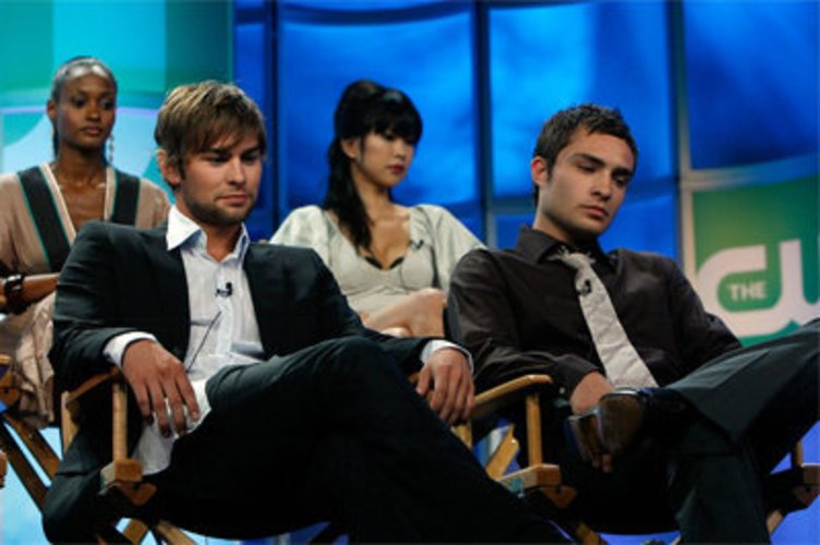 Chace Crawford und sein Co-Star Ed Westwick