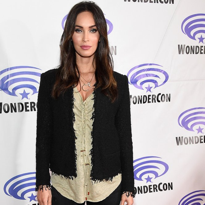 "LOS ANGELES, CA - MARCH 25: Actress Megan Fox attends a panel at WonderCon 2016 to promote the upcoming release of Paramount Pictures' ""Teenage Mutant Ninja Turtles – Out of The Shadows"", on March 25, 2016 at the LA Convention Center in Los Angeles, California. (Photo by Frazer Harrison/Getty Images)"