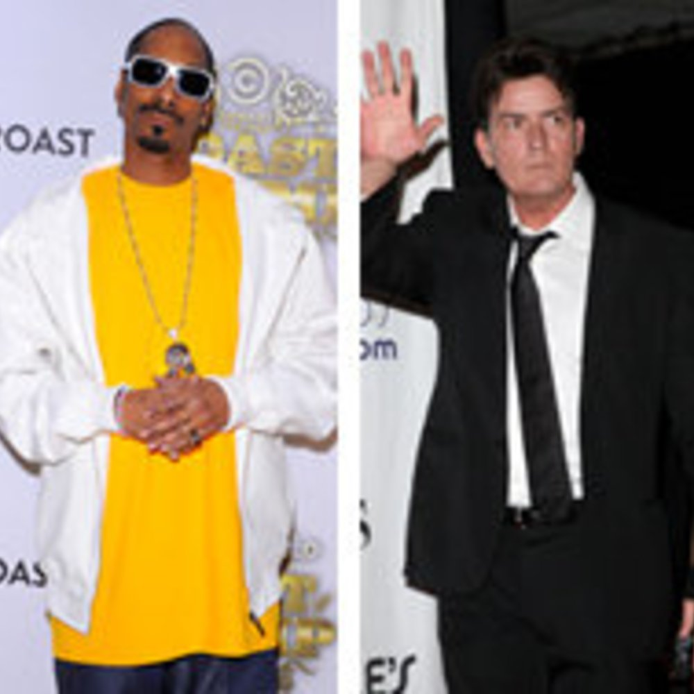 Charlie Sheen nimmt einen Song mit Snoop Dogg auf!