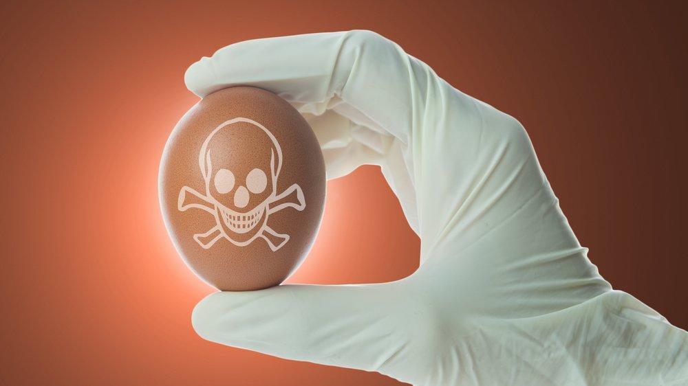 Vergiftete Eier