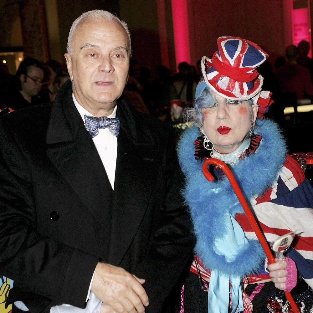 London Fashion Week 2013: Manolo Blahnik ehrt Anna Piaggi