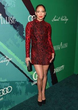 Jennifer Lopez bei einer Gala
