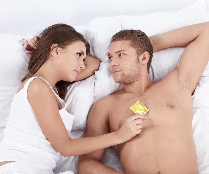 Sex ohne Kondom besser