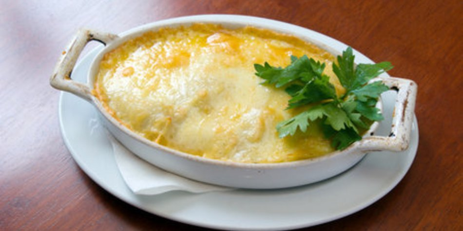 Auberginen Lasagne