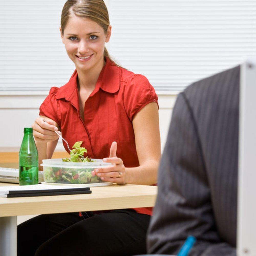 Bürodiät – Abnehmen während der Arbeitszeit