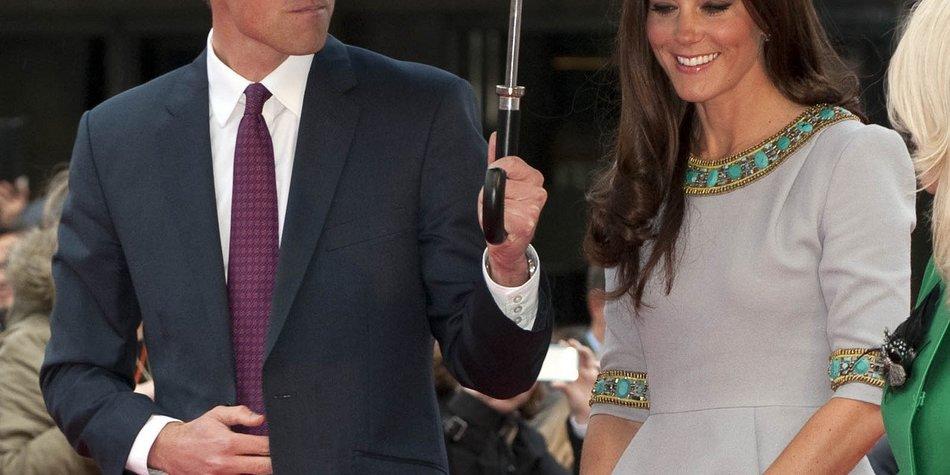 Kate Middleton & Prinz William: Erster gemeinsamer Auftritt