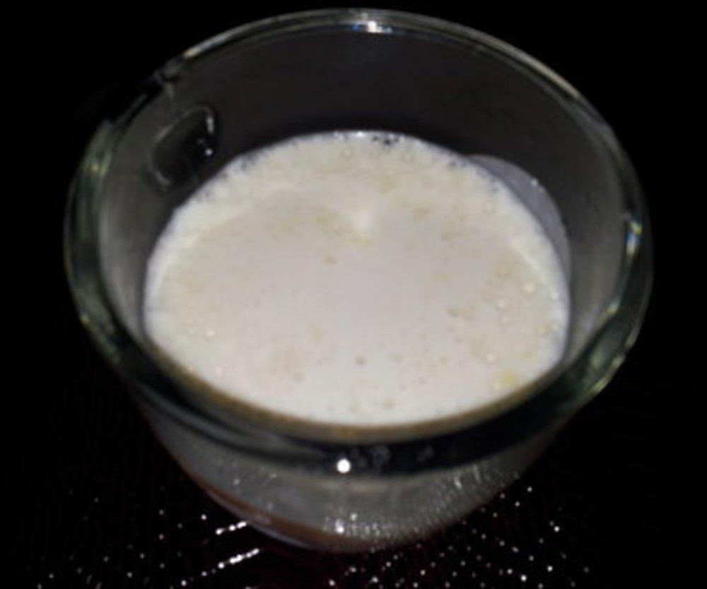 Chai Latte mit Schuss