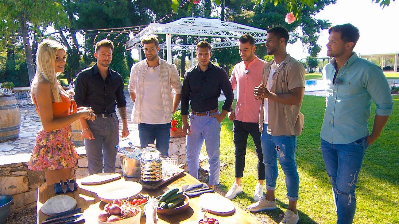 Die Bachelorette Kandidaten Keno, Marco, Tim, Serkan, David und Florian