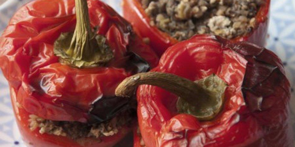Gefüllte Paprika Hackfleisch