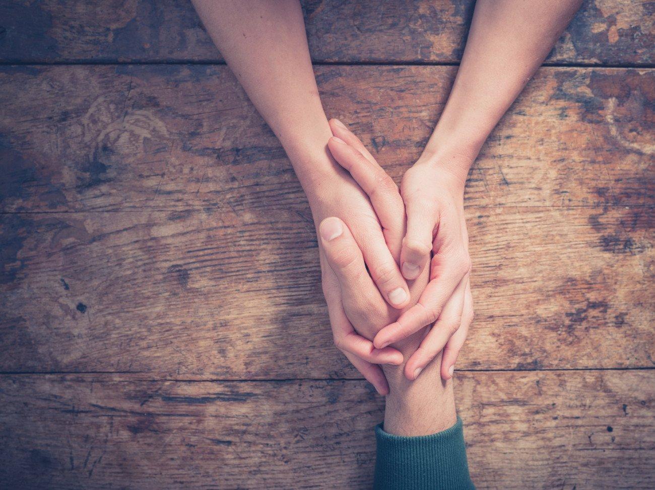Wann ich liebe Dich sagen - Hände