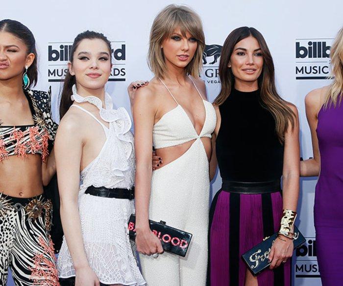 Zendaya, Hailee Steinfeld, Taylor Swift, Lily Aldridge, Martha Hunt