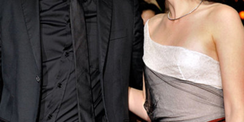 Robert Pattinson und Kristen Stewart in Westwood