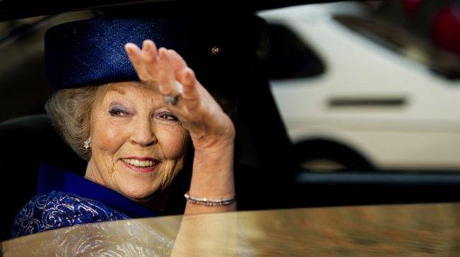Königin Beatrix absolvierte ihren letzten öffentlichen Auftritt als Monarchin.