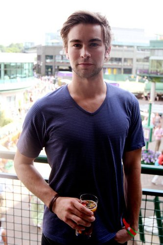 Chace Crawford 2009 in Wimbledon